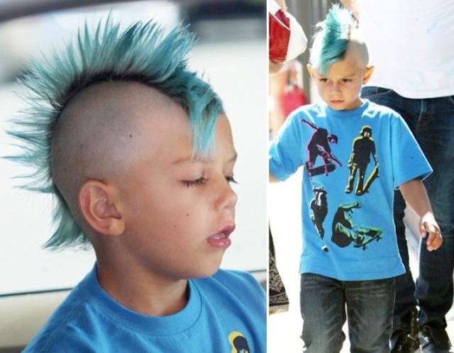 Gaya rambut mohawk 4 anak seleb ini nyentrik abis, ada ...