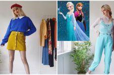 Potret gaun 10 putri Disney diubah jadi outfit kekinian, stylish