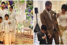 11 Momen pernikahan Adinda Bakrie & Vinny Di Lucia, penuh khidmat