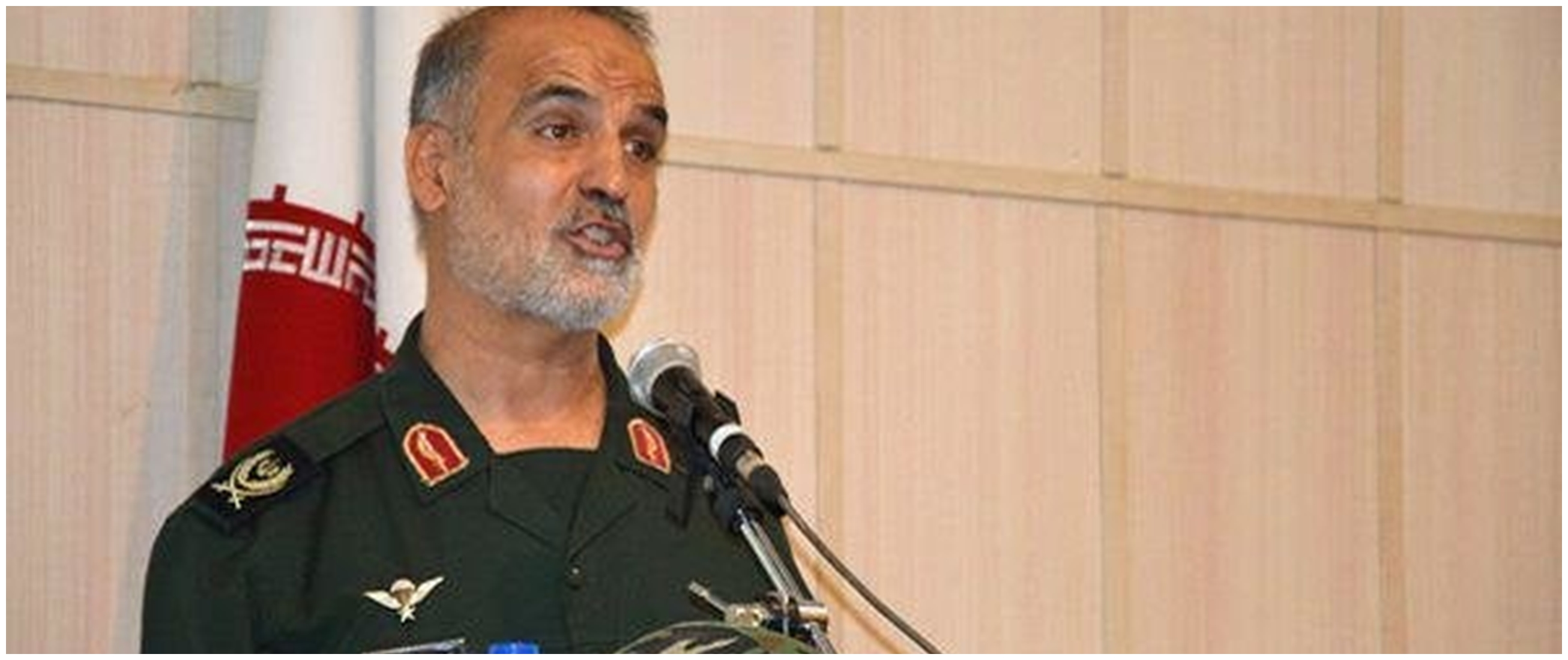 Komandan Iran Nasser Shabani meninggal dunia karena virus Corona