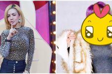 8 Potret rambut ungu Barbie Kumalasari, perubahannya manglingi