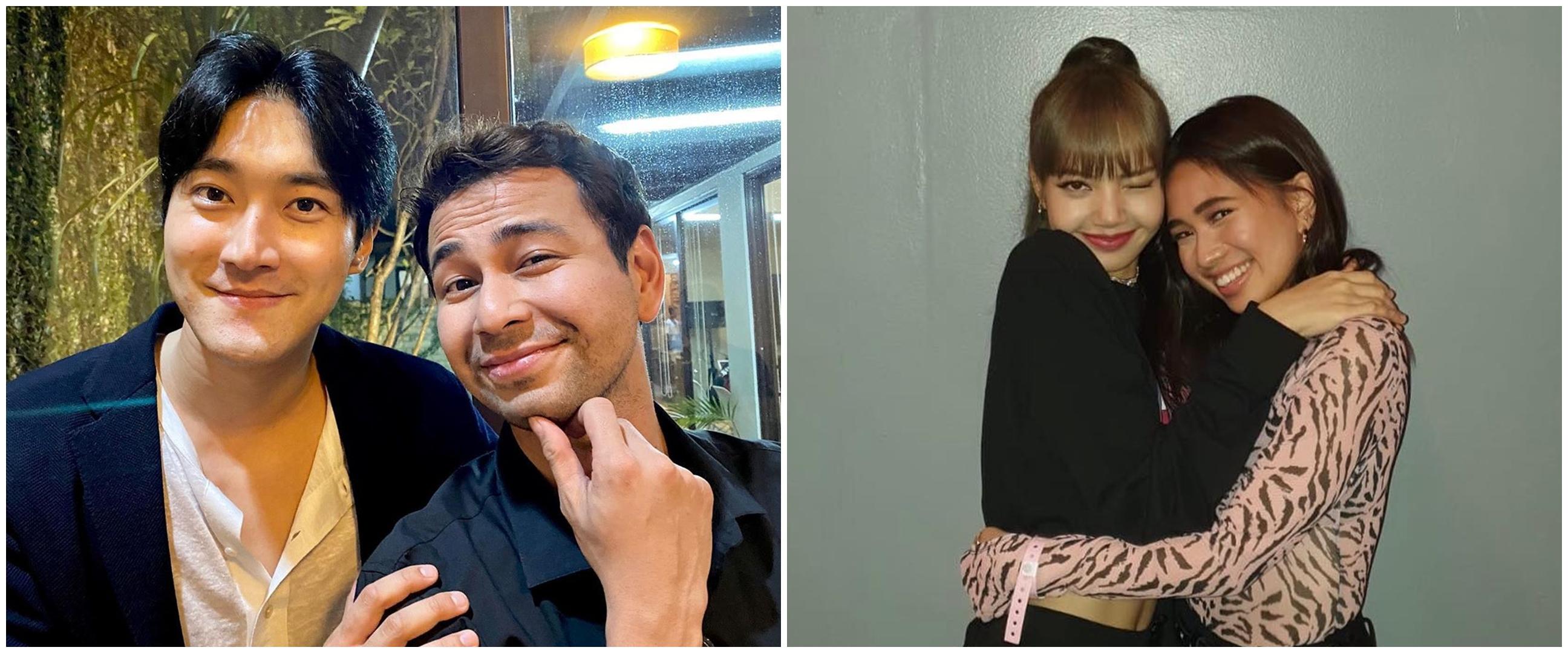 Potret persahabatan 6 seleb Indonesia & idol K-Pop, bak saudara
