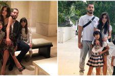 10 Potret akrab Vinny suami Adinda Bakrie & dua anak tirinya