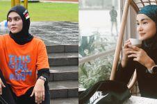 5 Gaya seleb berhijab saat olahraga lari, tetap stylish