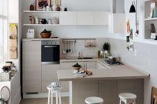 10 Inspirasi desain dapur minimalis, keren dan nggak makan tempat