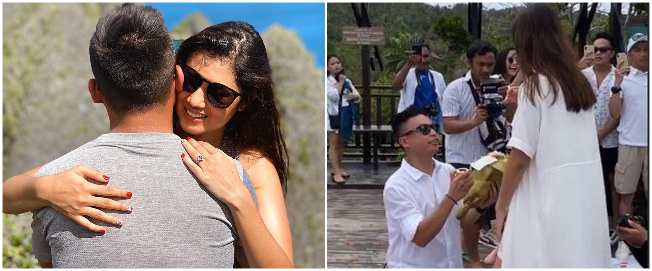 8 Momen Atries mantan Chef Juna dilamar kekasih di Raja Ampat