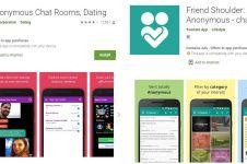 Rekomendasi 6 aplikasi chat anonim, bikin curhat jadi nyaman