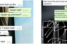 10 Chat WA lucu bikin emosi teman ini kocak abis
