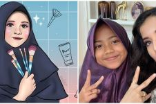 5 Potret artis dan beauty vlogger dirias MUA cilik Lovely Natasha
