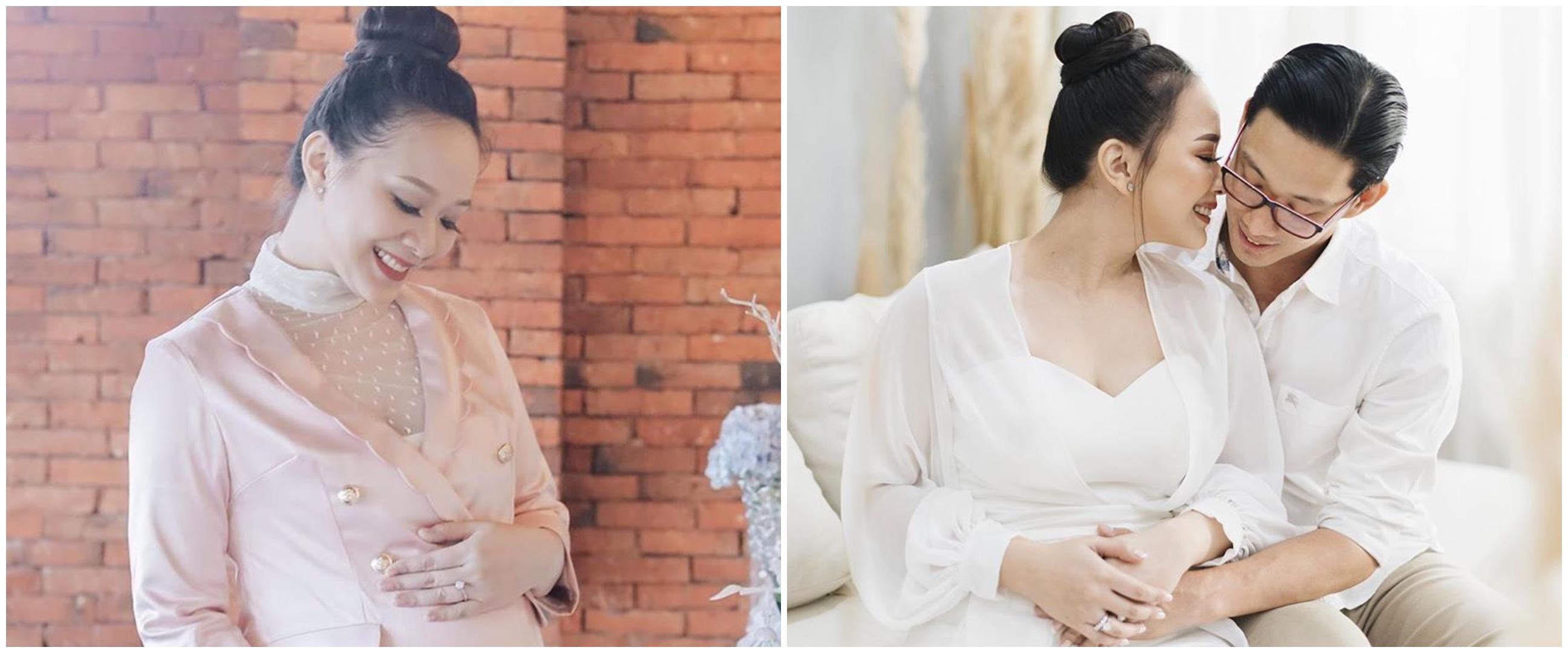 Yuanita Christiani melahirkan, paras sang bayi bikin penasaran