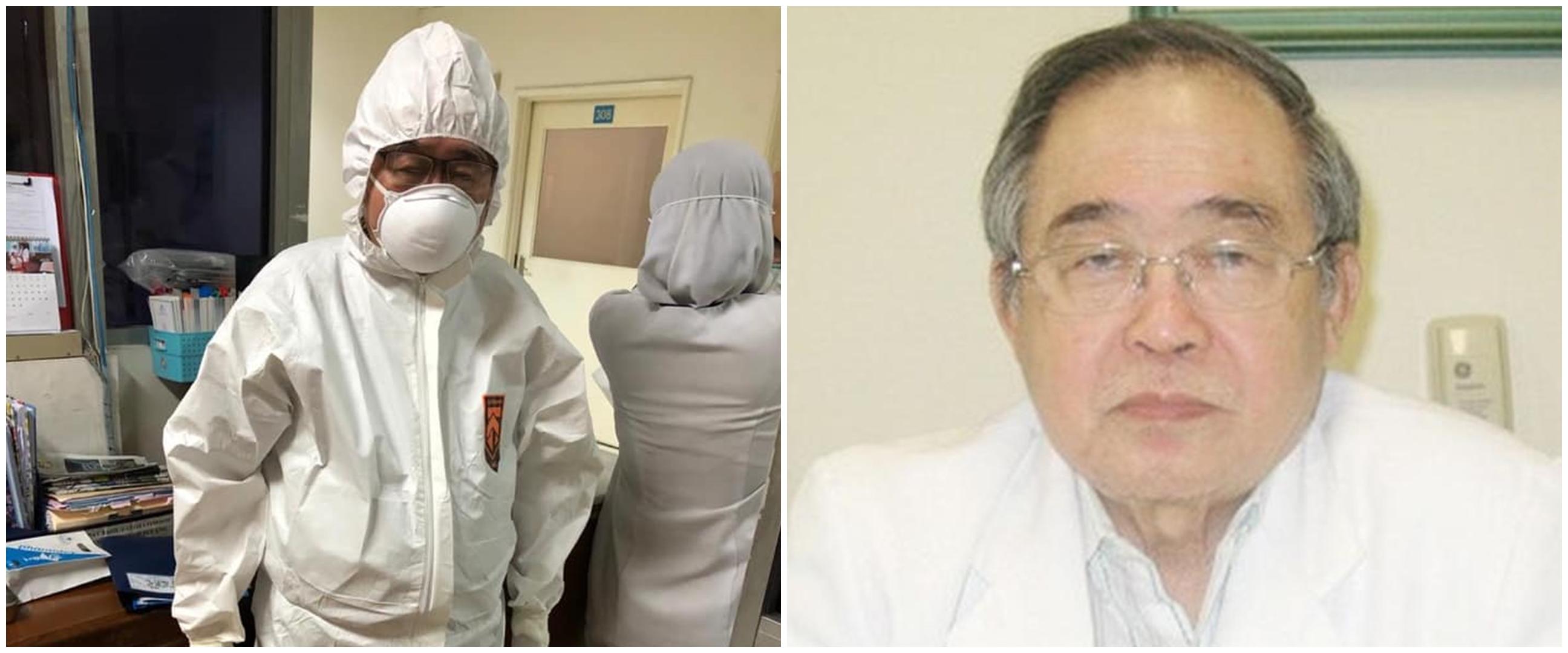 Viral kisah dokter Handoko Gunawan, usia 80 tahun rawat pasien Corona