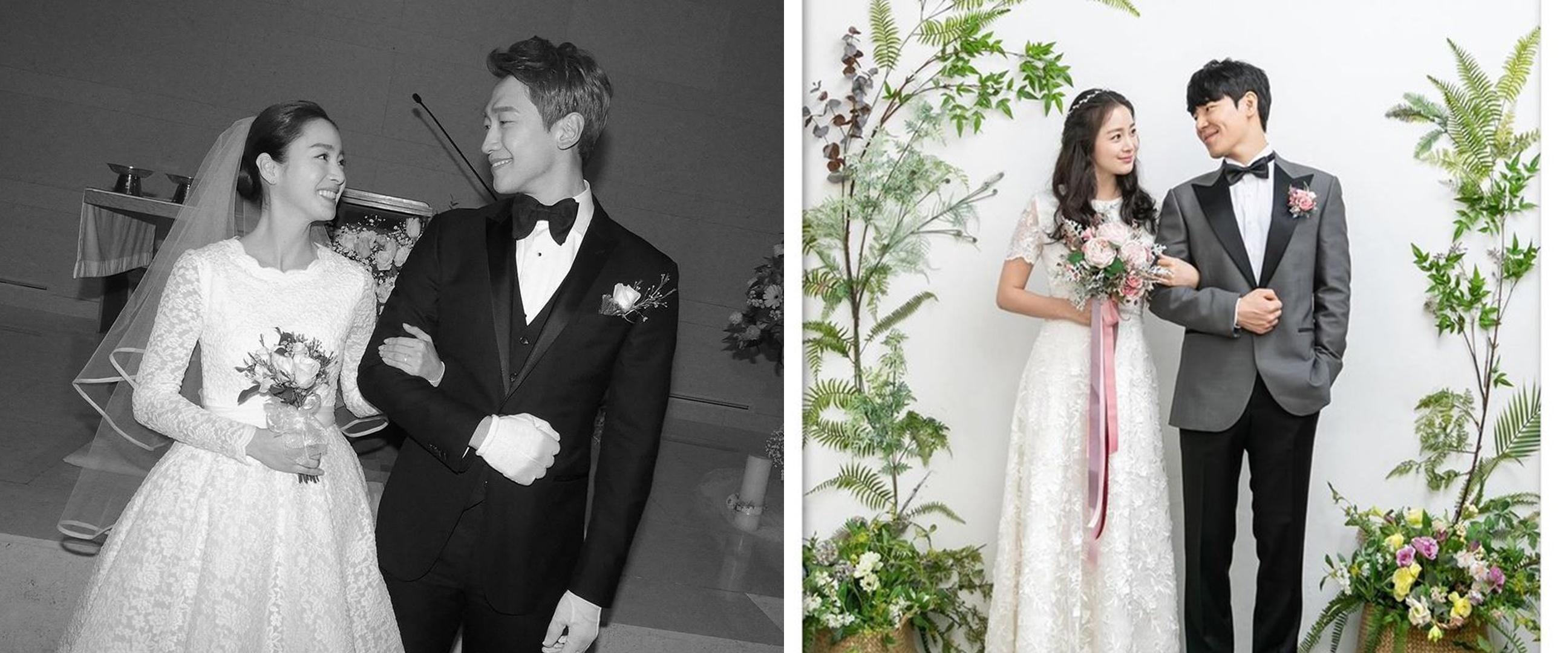 6 Beda gaya pernikahan Kim Tae-hee di drama Hi Bye Mama vs nyata