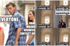 7 Meme dan kartun sadarkan kita pentingnya pencegahan Corona