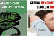 7 Meme lucu kebanyakan mengkhayal ini bikin ketawa malu