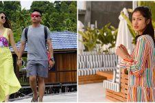 8 Momen liburan Atries Angel & kekasih jelajah Raja Ampat