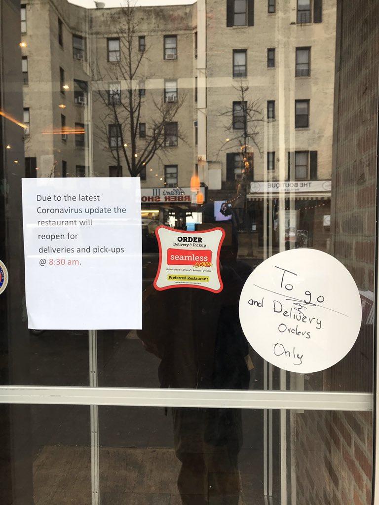 Potret suasana New York Twitter/@pinotski