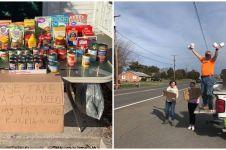 10 Aksi kemanusiaan di tengah pandemi Corona, bikin haru & takjub