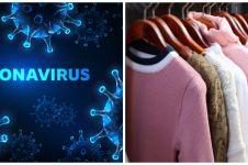 Ini tipe pakaian yang rentan menyimpan virus, waspada ya!