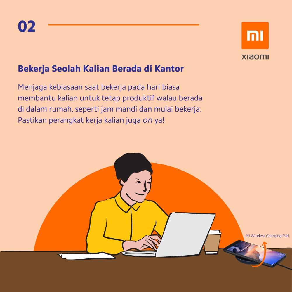 8 Tips kerja dari rumah ala Xiaomi © 2020 brilio.net