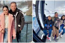 10 Potret liburan Krisdayanti & keluarga di Eropa, rayakan anniversary