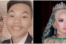 Tegar Septian nikah di usia 18 tahun, ini 9 potret cantik sang istri