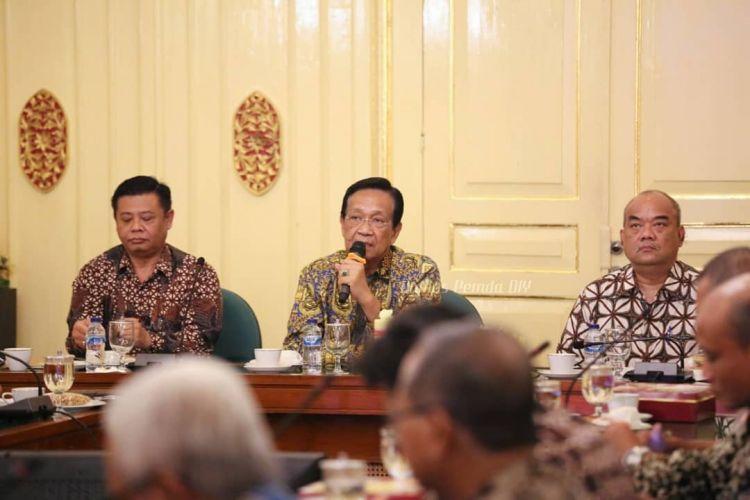 Pernyataan lengkap sabda Sultan Hamengkubuwono X soal wabah Corona