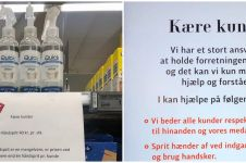 Cara supermarket atasi penimbun hand sanitizer ini unik abis