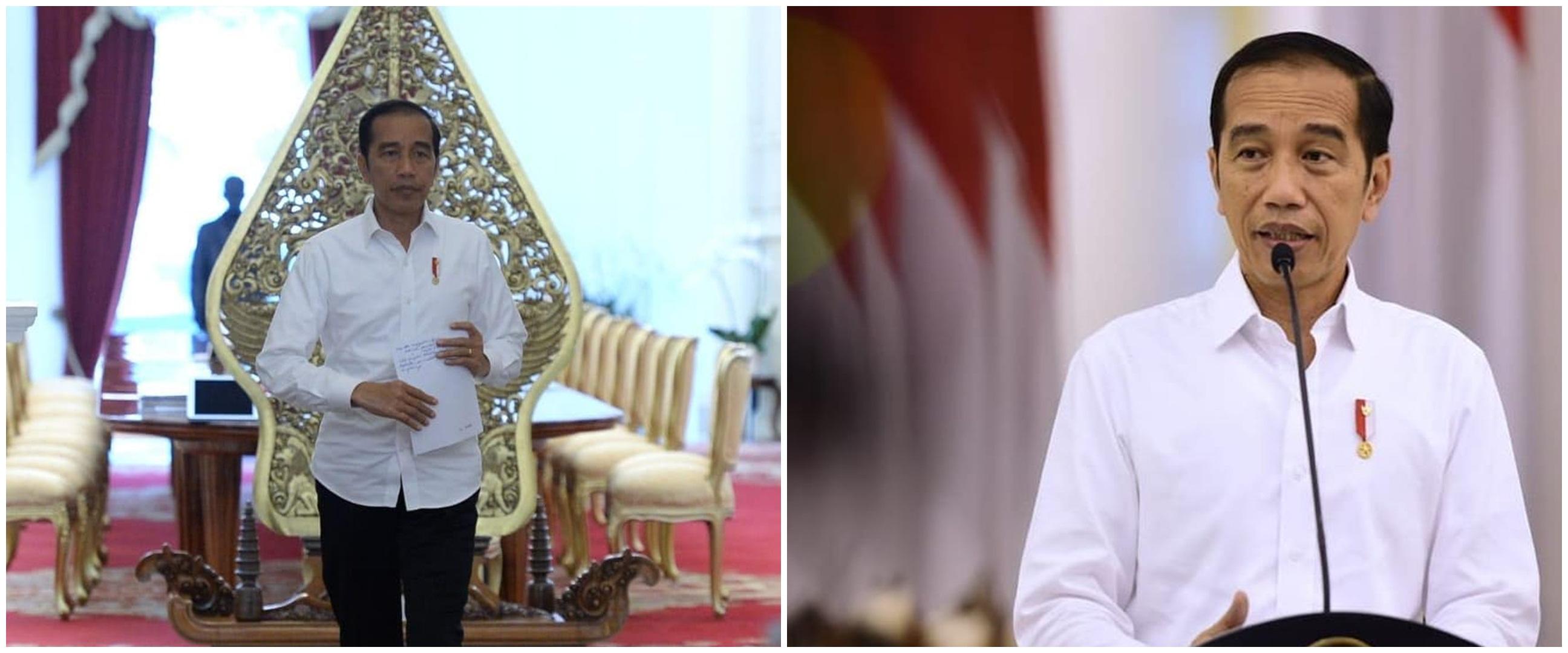 Alasan Jokowi tak pilih lockdown atasi Corona