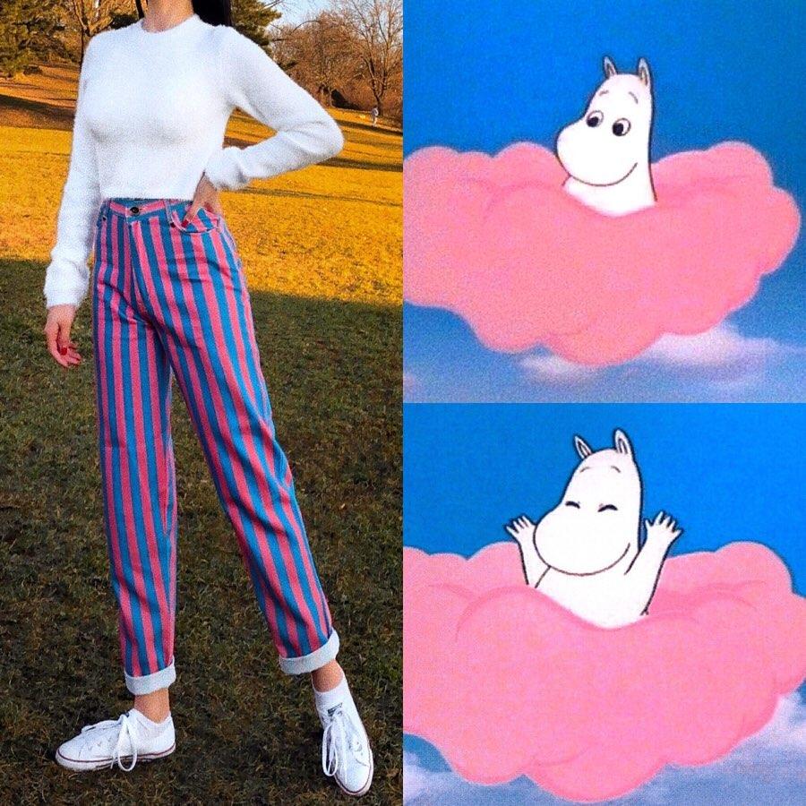outfit karakter animasi Instagram