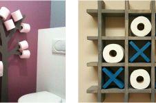 10 Kreasi tempat tisu ini unik banget, jadi penghias ruangan