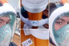 Kekurangan masker, tim robotik di Rumania modifikasi masker snorkeling