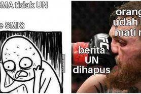 10 Meme lucu UN 2020 ditiadakan ini kocaknya bikin geleng kepala