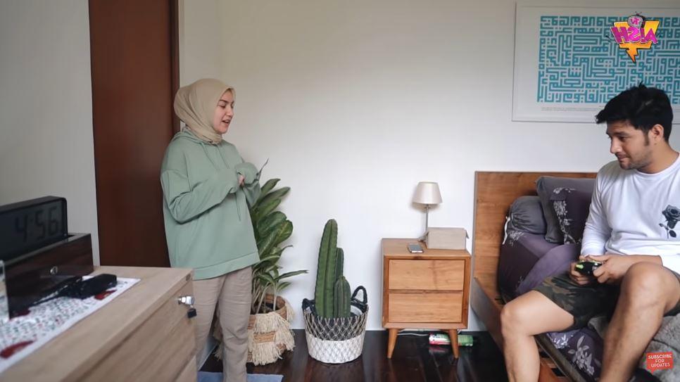 Kamar Irish Bella & Ammar Zoni di rumah baru YouTube