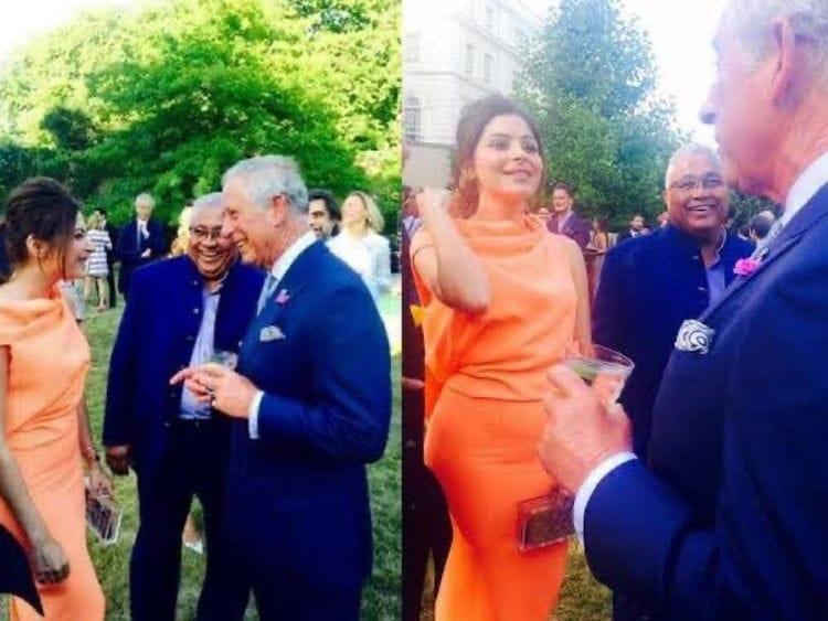 Foto Pangeran Charles dan Kanika Kapoor hoaks Facebook