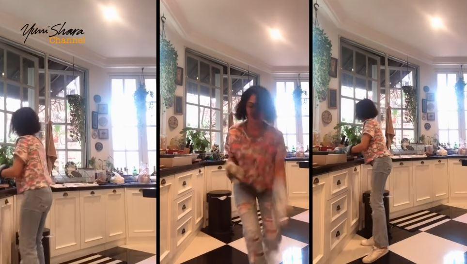 Momen Yuni Shara #dirumahaja  Instagram &  YouTube