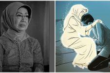 Viral gambar ibunda Jokowi bersinar putih terang, penuh makna