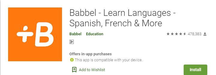 6 Aplikasi bahasa asing play.google.com