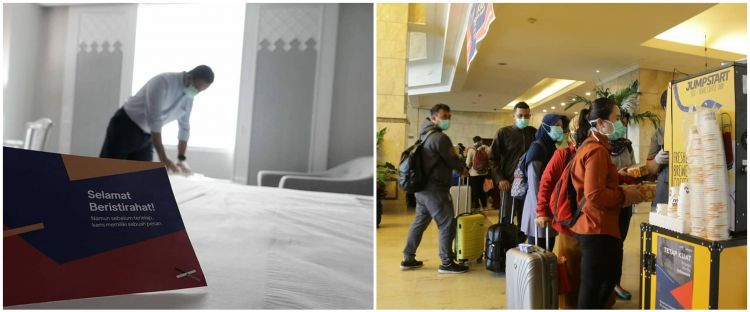 9 Foto interior Hotel Grand Cempaka, 'rumah singgah' paramedis Corona