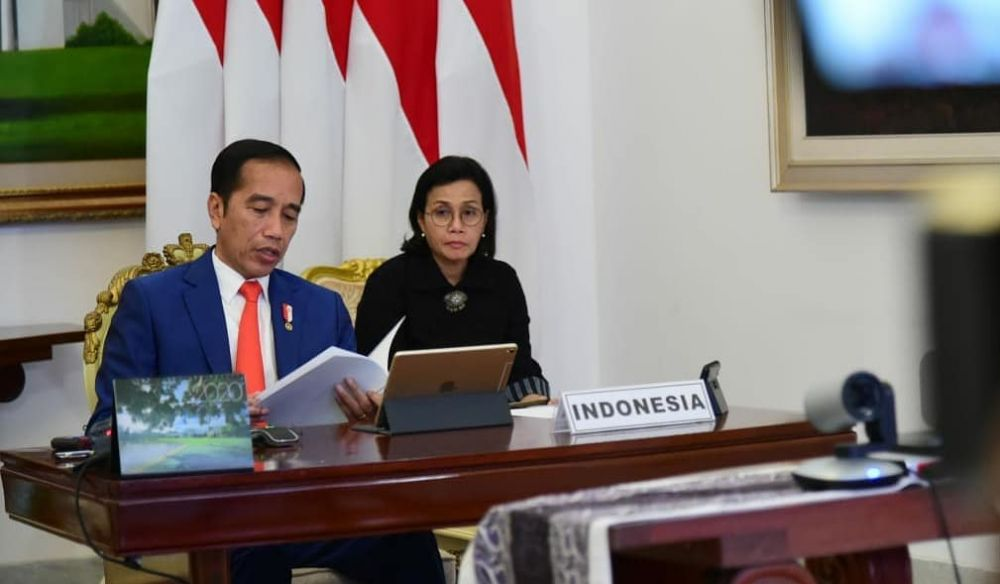 Jokowi hadiri KTT G20 meski tengah berduka © 2020 instagram.com