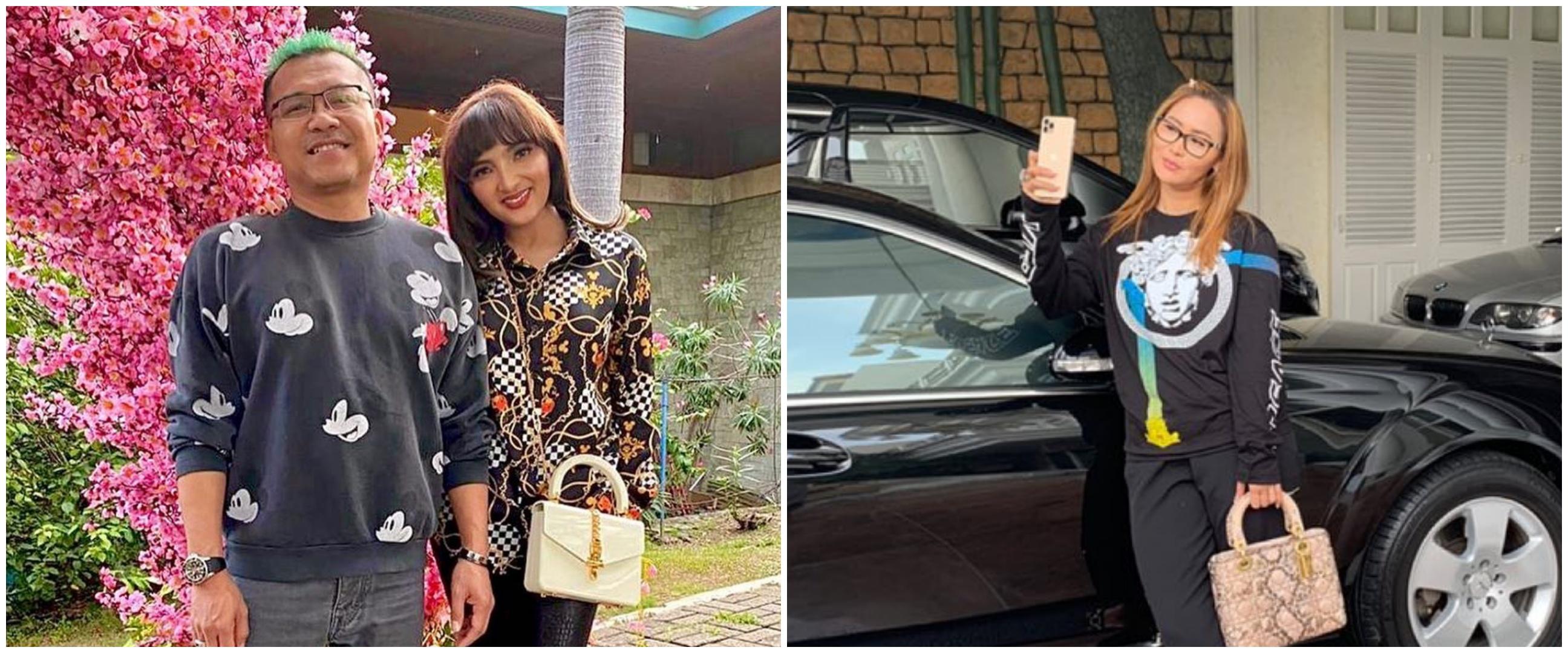 Penampakan garasi 6 penyanyi Tanah Air, koleksi mobilnya bikin melongo