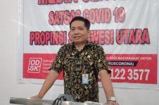 Satu pasien virus Corona dari Manado dinyatakan sembuh