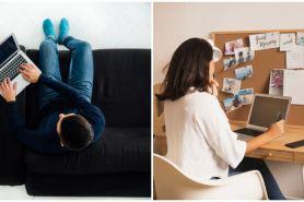 8 Cara work from home agar tetap produktif dan antimalas