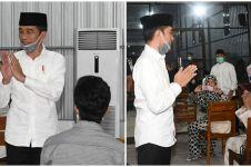 8 Momen tahlilan ibunda Presiden Jokowi, dipimpin Gus Karim