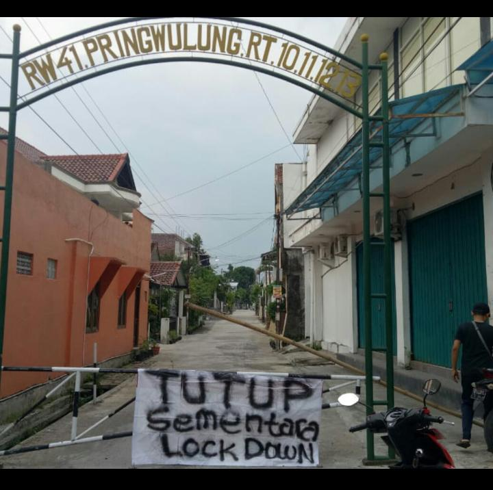 lockdown mandiri © 2020 brilio.net