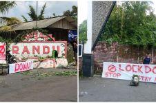 Viral beberapa kampung di Jogja mulai lakukan lockdown mandiri