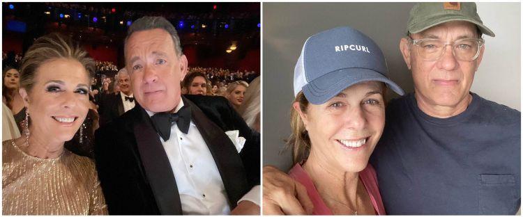 Sembuh Corona, Tom Hanks dan Rita Wilson pulang ke Amerika