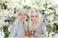 10 Momen pernikahan Adly Fairuz & Angbeen Rishi, penuh khidmat