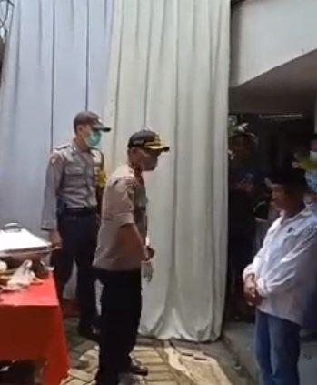 Viral video polisi marah © 2020 YouTube/Sedang Viral Di Indonesia