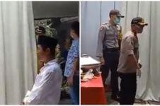 Viral detik-detik polisi marah-marah bubarkan arisan warga