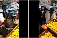 Viral video belanja di supermarket pakai APD, Menteri BUMN geram